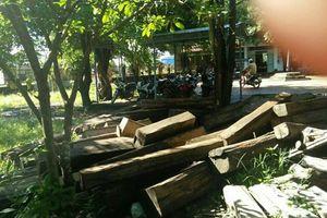 Thu giữ hơn 15m3 gỗ lậu tại xã biên giới