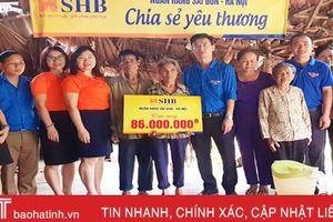 SHB hỗ trợ 86 triệu đồng cho gia đình đặc biệt khó khăn ở Hương Khê