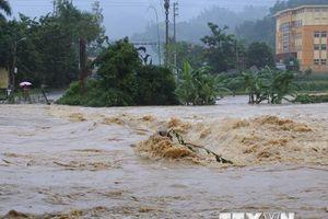 Mưa to trên diện rộng gây ngập lụt nhiều nơi ở tỉnh Lạng Sơn