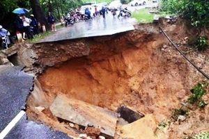 Tin nhanh cảnh báo sạt lở đất ở Sơn La, Hòa Bình, Thanh Hóa và Nghệ An