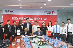 Maritime Bank và MISA hợp tác kết nối hệ thống