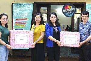 Hội LHPN tỉnh Vĩnh Phúc 'trao yêu thương' tới Mottainai 2018
