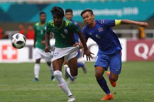 ASIAD 18: Olympic Thái Lan đứng trước nguy cơ bị loại ngay tại vòng bảng