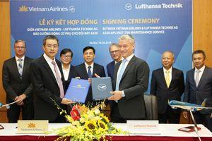 Lufthansa Technik sẽ bảo dưỡng động cơ Airbus A350 của Vietnam Airlines