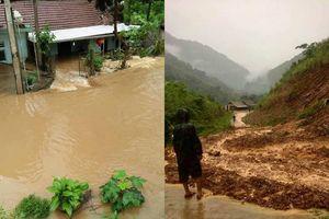 Bão số 4 quét qua, nhiều huyện miền núi ở Nghệ An bị sạt lở, cô lập