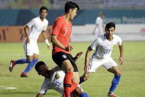 Malaysia tạo địa chấn, đánh bại Hàn Quốc của siêu sao Son Heung Min