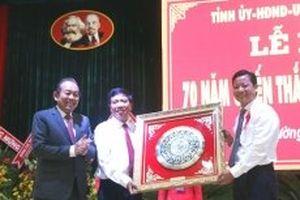 Phó Thủ tướng Trương Hòa Bình dự Kỷ niệm 70 năm chiến thắng trận Mộc Hóa