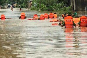 Tập trung huy động lực lượng khắc phục hậu quả mưa lũ