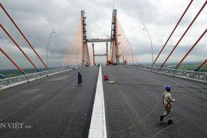 2 tuần nữa thông xe, cầu nối Hải Phòng - Quảng Ninh trông thế nào?