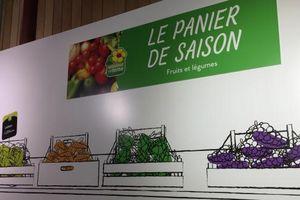 Nông phẩm tận gốc thu hút dân Pháp