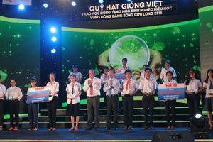 1.300 suất học bổng 'Quỹ Hạt Giống Việt' đến với HS nghèo ĐBSCL
