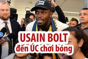 Usain Bolt lặn lội đến tận Úc để theo đuổi ước mơ đá bóng