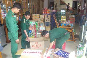 BĐBP Bình Thuận thu giữ hơn 3.000 bao thuốc lá ngoại nhập lậu