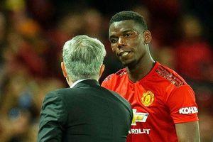 Nội tình M.U: Mourinho lên tiếng về mâu thuẫn với Paul Pogba