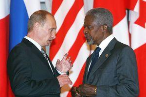 Tổng thống Putin: 'Ông Kofi Annan sẽ mãi ở trong trái tim người Nga'