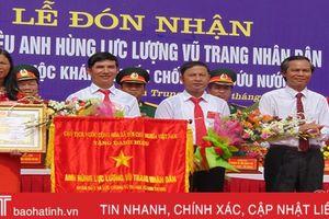 Xã Sơn Trung đón nhận danh hiệu Anh hùng lực lượng vũ trang nhân dân