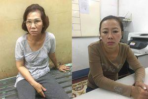 Hai 'nữ quái' chuyên dàn cảnh móc túi khách nước ngoài ở Sài Gòn