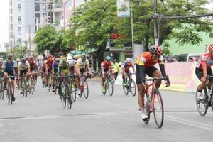 Chặng 8 giải xe đạp đồng bằng sông Cửu Long: Thứ hạng trong bảng tổng sắp không đổi