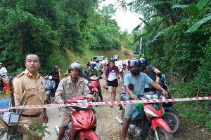 Hòa Bình: Cấm ô tô qua đường tỉnh 445, đoạn bị lún sụt