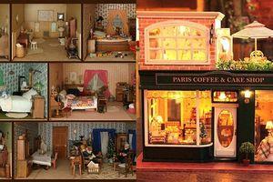 Mãn nhãn với nghệ thuật làm những ngôi nhà siêu nhỏ của Nhật Bản