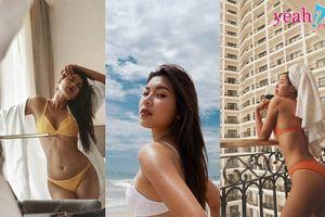 Bỏng mắt khi Đồng Ánh Quỳnh khoe 3 vòng hoàn hảo với bikini