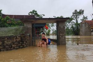 Thanh Hóa: Mưa lớn sau bão khiến nhiều vùng bị cô lập, hàng nghìn hộ dân phải sơ tán