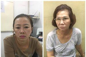 Tóm gọn 2 'nữ quái' dàn cảnh trộm điện thoại của du khách