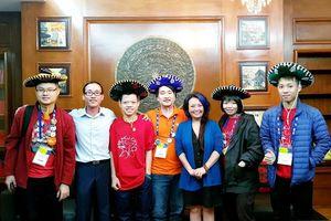 Gặp mặt Đội tuyển Việt Nam tham gia cuộc thi FIRST Global Challenge 2018 tại Mexico
