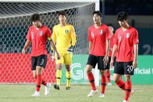Olympic Hàn Quốc thua sốc tại ASIAD 18
