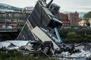 Vụ sập cầu tại Italia: Tìm thấy gia đình 3 người trong đống đổ nát