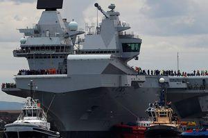 Hải quân Anh phản ứng mạnh trước 'sức ép' Nga