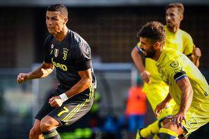 Diễn biến đáng chú ý trận ra mắt của Ronaldo trong màu áo Juve
