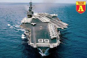 Sức mạnh siêu tàu sân bay duy nhất của Mỹ bị đánh chìm