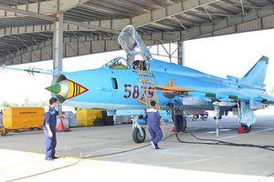 Su-22 Việt Nam tiếp tục tung cánh bay bảo vệ bầu trời tổ quốc