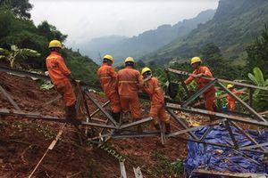 Công ty Lưới điện cao thế miền Bắc khẩn trương khắc phục sự cố lưới điện Huở Phăn, nước bạn Lào