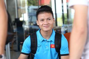 Olympic Việt Nam cười đùa vui vẻ trước đại chiến với Nhật Bản