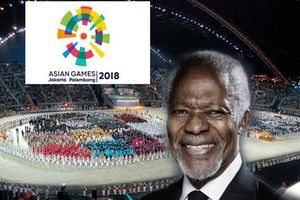 Lễ khai mạc Asiad 2018, Kofi Annan qua đời ở tuổi 80 được tìm đọc nhiều nhất ngày