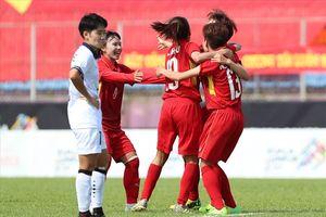 Tuyển nữ Việt Nam hạ 'đại kình địch' Thái Lan 3-2, lấy vé vào tứ kết