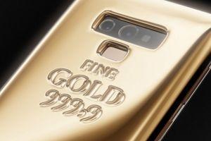 Ngắm Galaxy Note 9 'khoác' 1kg vàng ở mặt lưng