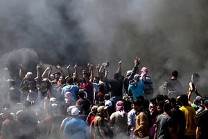 Do các sự cố biên giới, Israel đóng cửa khẩu với Gaza