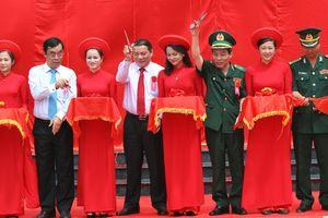 Lễ khánh thành Tượng đài chiến sĩ Công an Nhân dân vũ trang bảo vệ giới tuyến