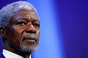 Trăn trở trong năm cuối đời của Kofi Annan về giới lãnh đạo quốc tế