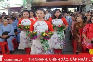 Hàng ngàn tăng ni, phật tử tham dự lễ Vu lan tại chùa Tượng Sơn