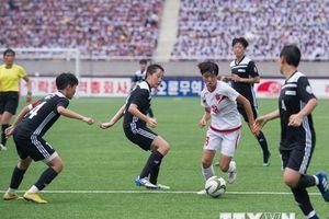 Triều Tiên tổ chức Lễ bế mạc Giải bóng đá trẻ quốc tế tại Bình Nhưỡng