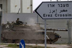 Israel phong tỏa một chiều cửa khẩu tại dải Gaza