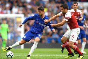 'Chân gỗ' Morata hóa sát thủ, Chelsea vượt qua Arsenal đầy nghẹt thở