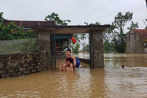 4 người chết, mất tích ở Thanh Hóa sau mưa lũ