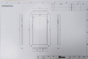 Smartphone Bphone 3 của Bkav lộ thiết kế không 'cằm' giống iPhone X