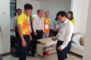 Bộ trưởng Nguyễn Ngọc Thiện: Các VĐV hãy thể hiện tình đoàn kết, hữu nghị