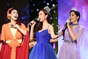 Bất ngờ với giọng hát của Hoa hậu Thiên Nga, Nguyễn Thị Huyền, Mỹ Linh